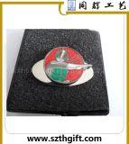 专业定制烤漆帽夹 带磁铁上色帽夹 五金帽夹果岭叉套装