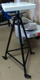 东育带轮三脚可升降雕塑台 陶艺设备 教学设备