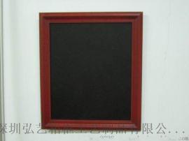 歐式風格 黑板相框 磁性小黑板留言板框 復古實木質框 橫豎掛兩用