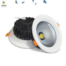 壓鑄COB天花燈賓士款LED天花射燈
