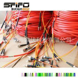 ST-ST光纤跳线  HCS200/230μm光缆电缆 H-PCF光纤