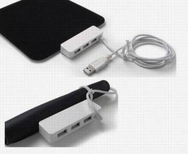 USB HUB 鼠标垫