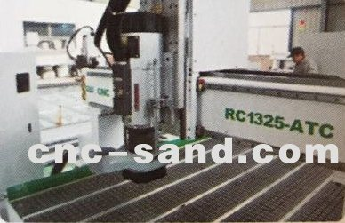 郑州高效数控自动换刀开料机排式换刀雕刻机加工中心RC1325S-ATC