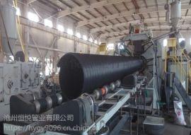 高密度聚乙烯HDPE钢带增强螺旋波纹管