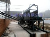 震动洗石机是近几年新兴搅拌站设备广泛用于河北制砂厂
