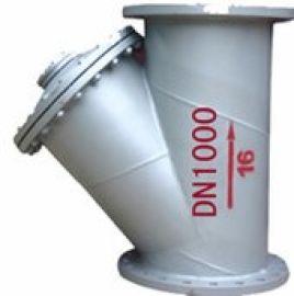 大口径Y型碳钢过滤器GL41H-16C 过滤器