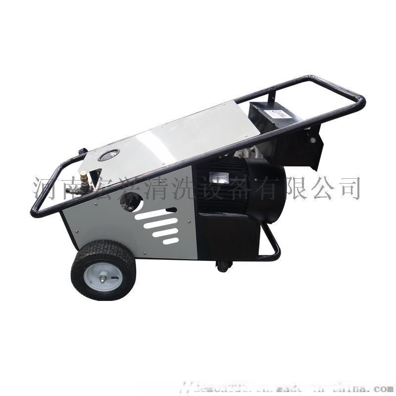 高壓清洗機 工程工地弔籃塔吊鉤機水泥油污清洗機