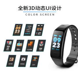 2018年CIS彩屏設計智慧手環