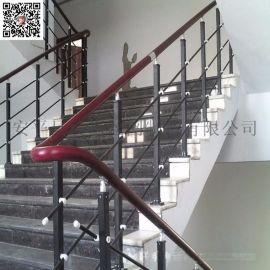 锌钢楼梯手扶手 小区学校医院公园楼梯护栏网