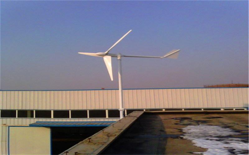 基站通訊設備供電2000瓦垂直軸風力發電機