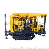 130地质岩心勘探钻机  液压履带岩心取样打井机