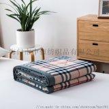 純棉被子被芯棉被日式色織全棉水洗棉夏被夏涼被空調被