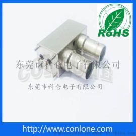 SDI双层BNC立式高清视频连接器
