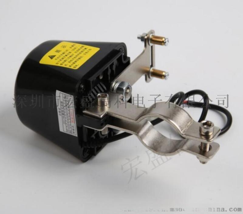 全自动安装家用燃气泄漏报警器联动管道切断机械手