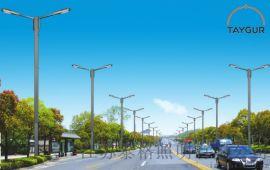 泰LED照明灯、7米单臂路灯,户外路灯、太阳能路灯