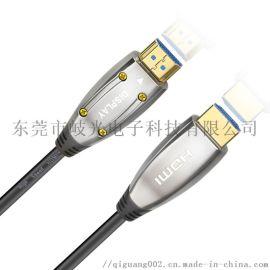 厂家直销定制hdmi光纤线4k机顶盒10米传输快