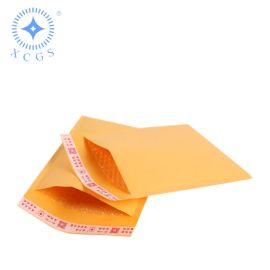 黄色牛皮纸气泡信封 信封气泡袋 白色气泡信封袋