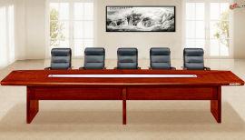 油漆木皮会议台4207款 绿色环保健康家具