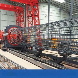 陕西钢筋笼绕筋机钢筋笼成型机自动存储数据