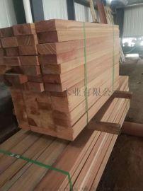 柳桉木防腐木地板户外实木板材原木木方木条木材料