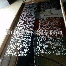 定制不锈钢电梯装饰板 豪华电梯轿厢镀色蚀刻板