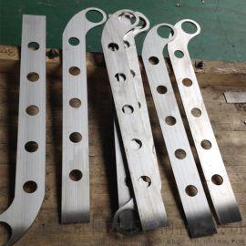 304不锈钢工程立柱 商场玻璃立柱扶手家用立柱加工