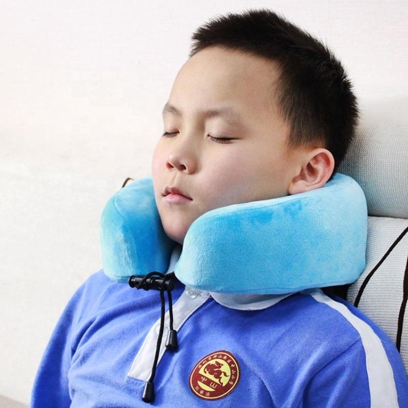 赛恩儿童休息用记忆棉旅行支撑颈枕