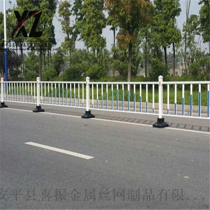道路护栏规格、常见市政道路护栏、市政护栏厂家