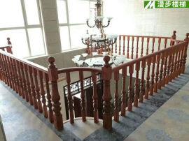 实木楼梯 室内雕花实木楼梯 按需定制