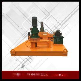 内蒙古阿拉善型钢冷弯机/槽钢弯曲机多少钱一台