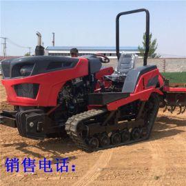 带后输出轴履带式拖拉机 50  四缸犁地松土机
