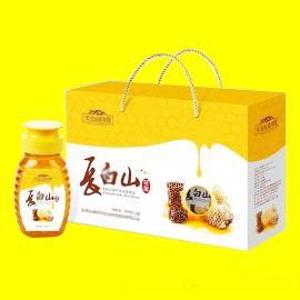 土特产包装盒定做设计 郑州定做蜂蜜包装盒