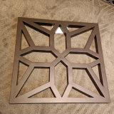 廠家直銷木紋鏤空鋁單板室內外牆裝飾鋁窗花規格定製