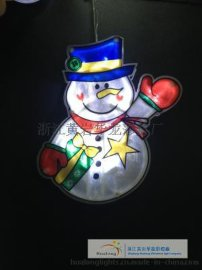 led灯 节日圣诞节新年婚礼装饰灯 圣诞老人 包邮