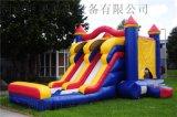 河南郑州儿童充气蹦蹦床 小歌星充气滑梯