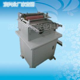 **产品热销PVC管切管机 编织带切带机 流苏花边加工机