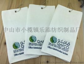 廠家定制純棉印花繡花高爾夫廣告毛巾