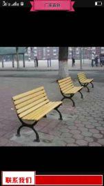 室外等候椅质量好 户外木质靠背椅工厂价直销