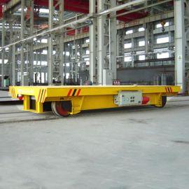搬运护链架轨道平板车 **电动平车价格 厂区转运车