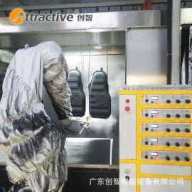 【广东创智】机械 机器人流水线 汽车配件喷漆设备