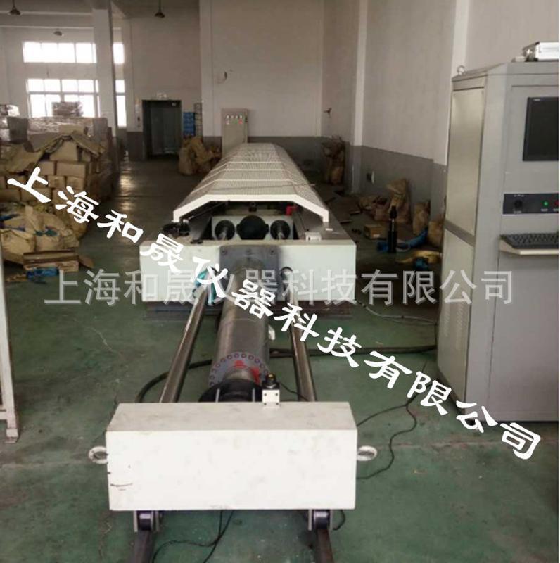 【上海和晟HESON】鋼絲繩安全織帶絞線液壓臥式拉力機臥式測試儀