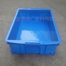 供應 465*350*160 塑料周轉箱物流筐 電子 服裝 倉儲箱工具箱