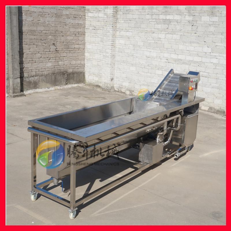 涡流清洗沥水生产线 葡萄清洗沥水风干生产线
