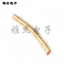 TJR多股镀锡铜绞线 裸铜线 软铜编织线 加塑透明铜绞线