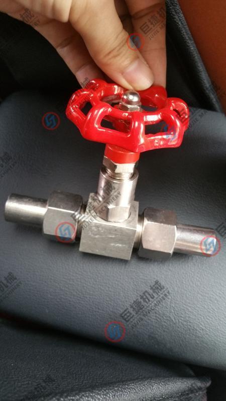 J23W-160P外螺纹焊接针型阀, 不锈钢针型阀 不锈钢304针型截止阀
