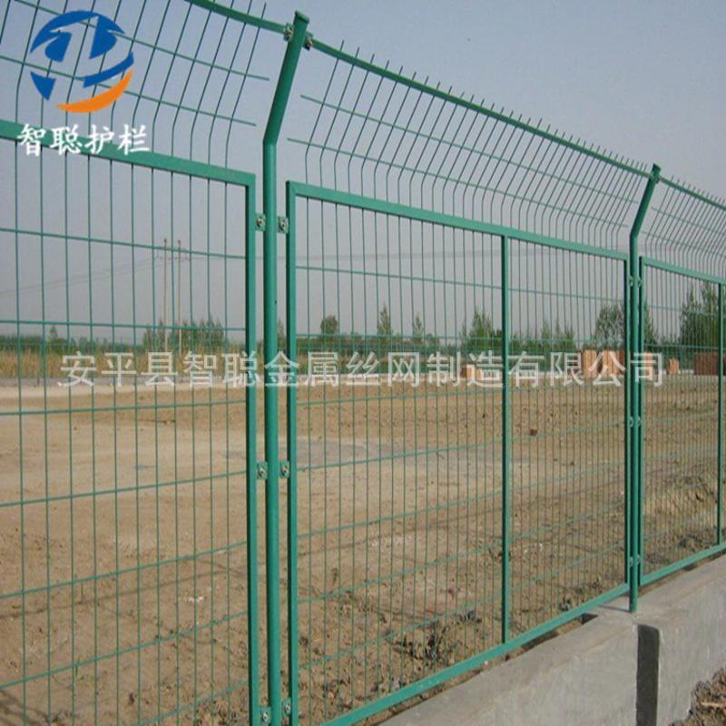现货高速公路框架护栏网 城市公园绿地防护围栏网 定做铁丝隔离栅