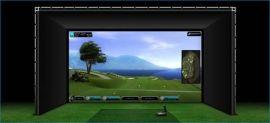 GC2模拟高尔夫,高速摄像机模拟高尔夫,瑞康乐室内高尔夫
