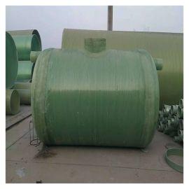 防腐化粪池玻璃钢化粪池安装工程
