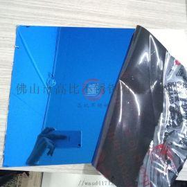 宝石蓝不锈钢镀色加工厂 镜面宝石蓝不锈钢板价格