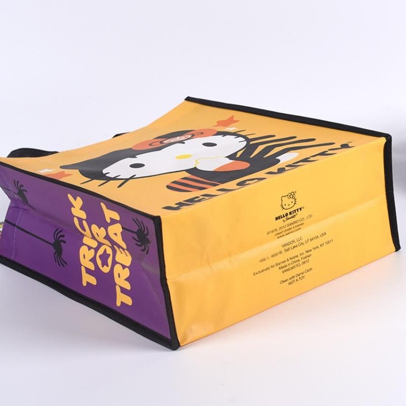 卡通覆膜无纺布袋定做logo购物袋礼品袋展会袋